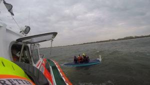 Seenotrettungn durch die DGZRS
